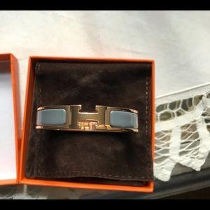 Hermes Clic H Bracelet Ardoise in PM!